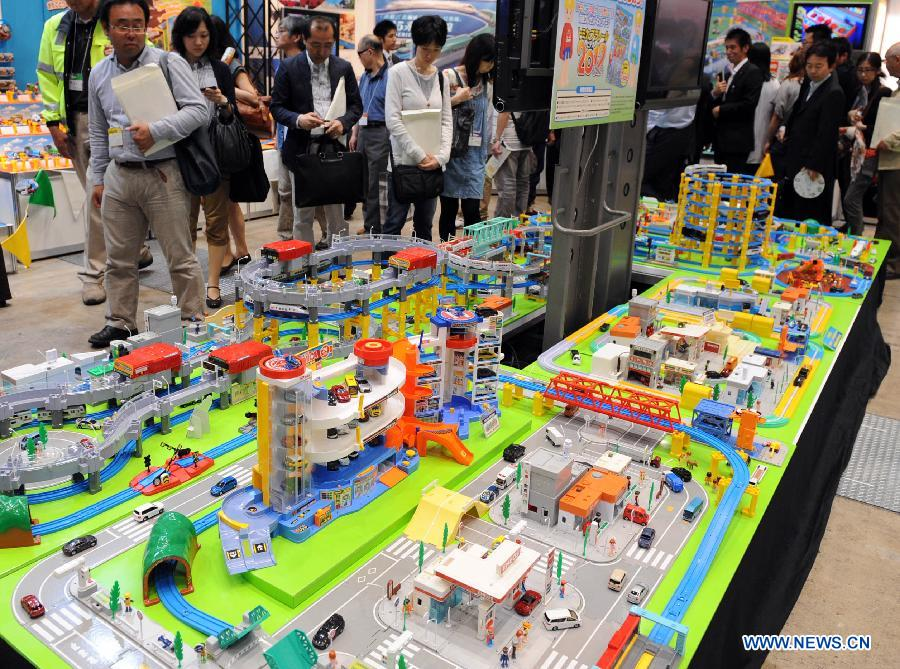 Japanese Toy Manufacturers : Int l toy show opens in tokyo china
