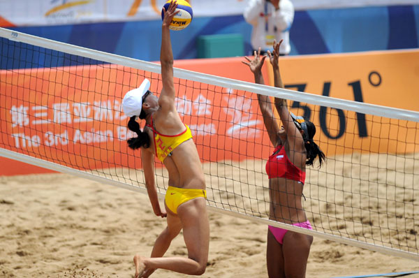 China leads medals table at 3rd Asian Beach Games