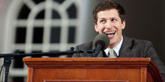 Andy Samberg Class Day 2012 speech at Harvard