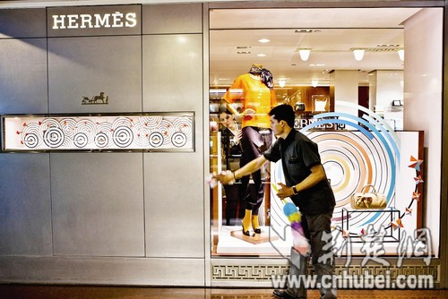 Hermes' CEO Patrick Thomas stated last week that 80 percent of the luxury goods purchased online are fake. [File photo]
