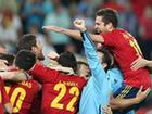 Spain struggles to beat Portugal 4-2 on penalties.
