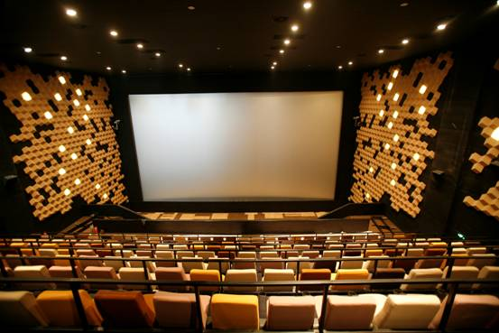 File photo: 'DMAX' large screens