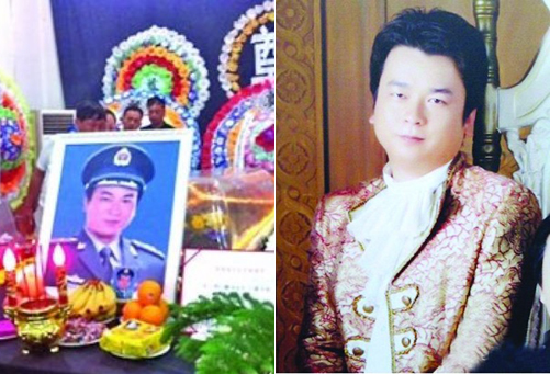 Zhou Jiangjiang, general manager of the Yantai branch of the Tongzhou Construction Company in Shandong Province, died in a factory fire while trying to save his 10 employees on July 2, 2012.