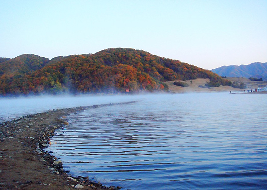 Songhua Lake, one of the 'top 10 attractions in Jilin, China' by China.org.cn.