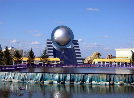 Changchun Film Theme Park, one of the 'top 10 attractions in Jilin, China' by China.org.cn.