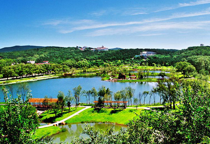 Jingyuetan National Forest Park, one of the 'top 10 attractions in Jilin, China' by China.org.cn.