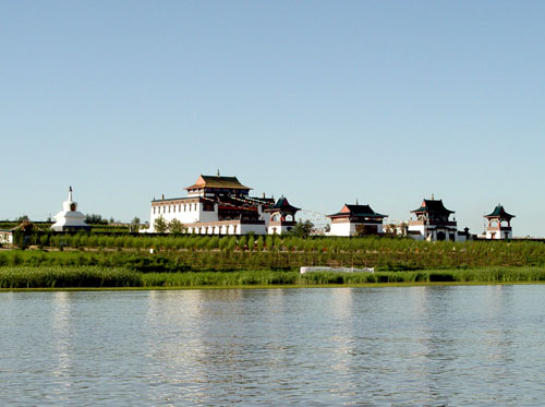 Chagan Lake, one of the 'top 10 attractions in Jilin, China' by China.org.cn.