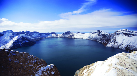 Mount Changbai, one of the 'top 10 attractions in Jilin, China' by China.org.cn.