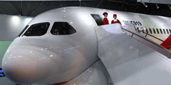 China's C919 shines at Farnborough Int'l Airshow
