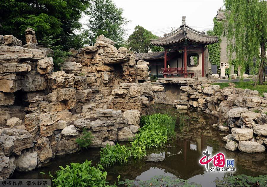 Baoding China  city photo : Ancient Lotus Pond Garden in Baoding China.org.cn