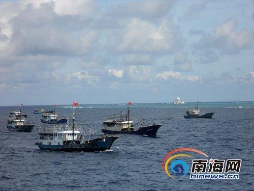 探访中国最先进渔政船:配载直升机航速达22海里