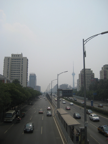 Pollution protection,one of the 'Top 10 tips for Westerners traveling in Beijing'by China.org.cn.