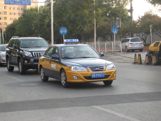 Taxi tips,one of the 'Top 10 tips for Westerners traveling in Beijing'by China.org.cn.