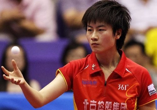 Tips: Ding Ning, 2017s edgy hair style of the cool kind  tennis player