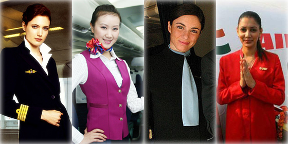 Top 10 most beautiful air hostess airlines