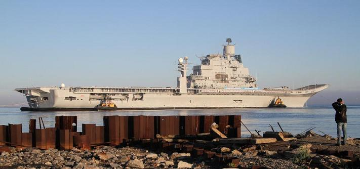 Refitted Vikramaditya (Admiral Gorshkov) [File photo]
