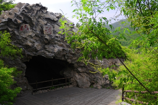 Zhoukoudian lies 50 kilometers to the southwest of Beijing proper, and is the former resting place of Peking man, a Homo erectus pekinensi.