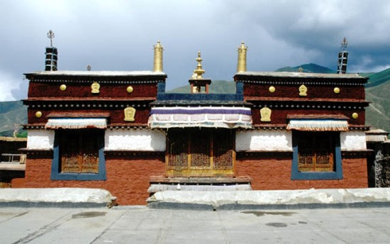 Trandruk Monastery is located 2 km from Nêdong County, Shannan Prefecture in the Tibet Autonomous Region of China.