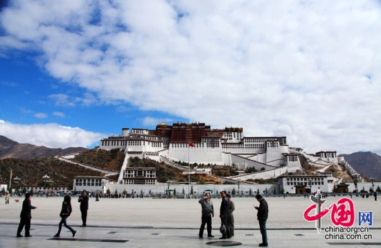 Potala Palace is located in Lhasa, the capital of Tibet Autonomous Region.