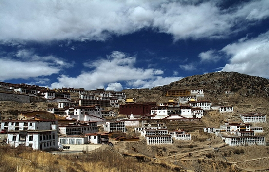 Ganden Monastery, also known as Gaden Monastery, is one of the 'great three' Gelukpa university monasteries of Tibet, together with the Sera Monastery and the Drepung Monastery.
