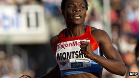 Amantle Montsho from Botswana