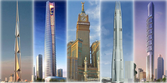 Top 10 future skyscrapers