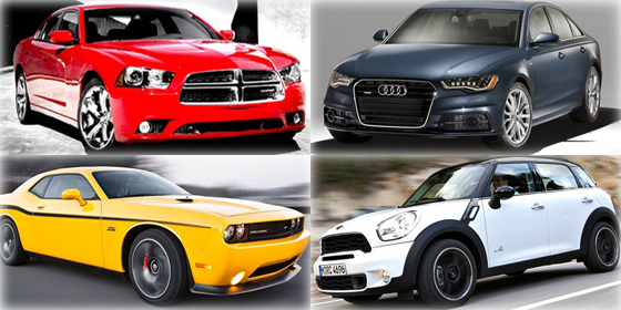 Top 21 favorite cars of 2012