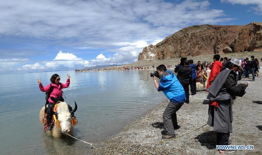 CHINA-TIBET-PLATEAU LAKE-NAMTSO-TOURISM (CN)