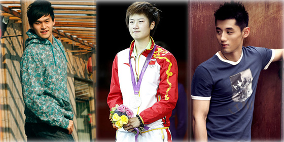 Top 10 Chinese athletes sponsors will vie for