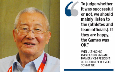 'There is no perfect Olympics'