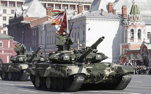T-90, one of the 'Top 10 tanks in the world' by China.org.cn.