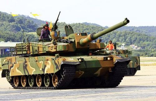 K2 Black Panther, one of the 'Top 10 tanks in the world' by China.org.cn.
