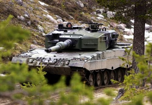 Leopard 2A6, one of the 'Top 10 tanks in the world' by China.org.cn.