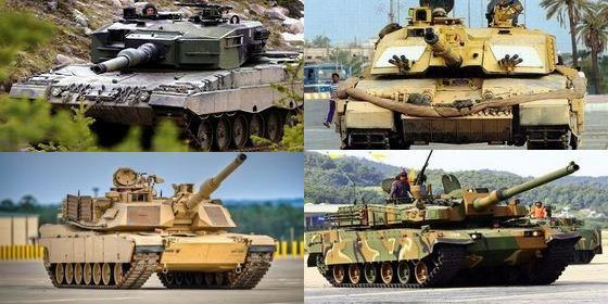 Top 10 tanks in the world