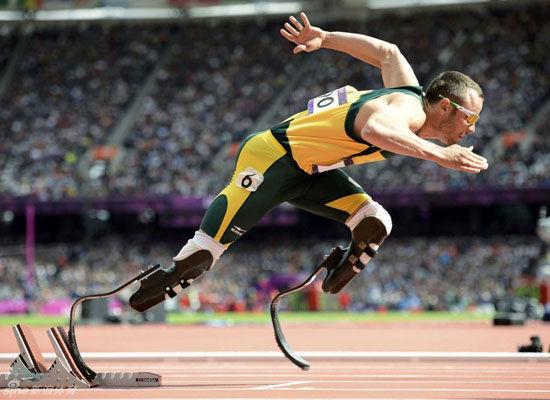 'Blade runner' Oscar Pistorius [Sina sports]
