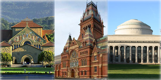 Top 20 world's academic universities of 2012
