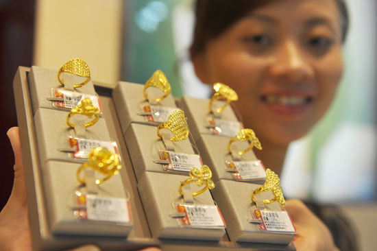 China s gold demand down in Q2 China