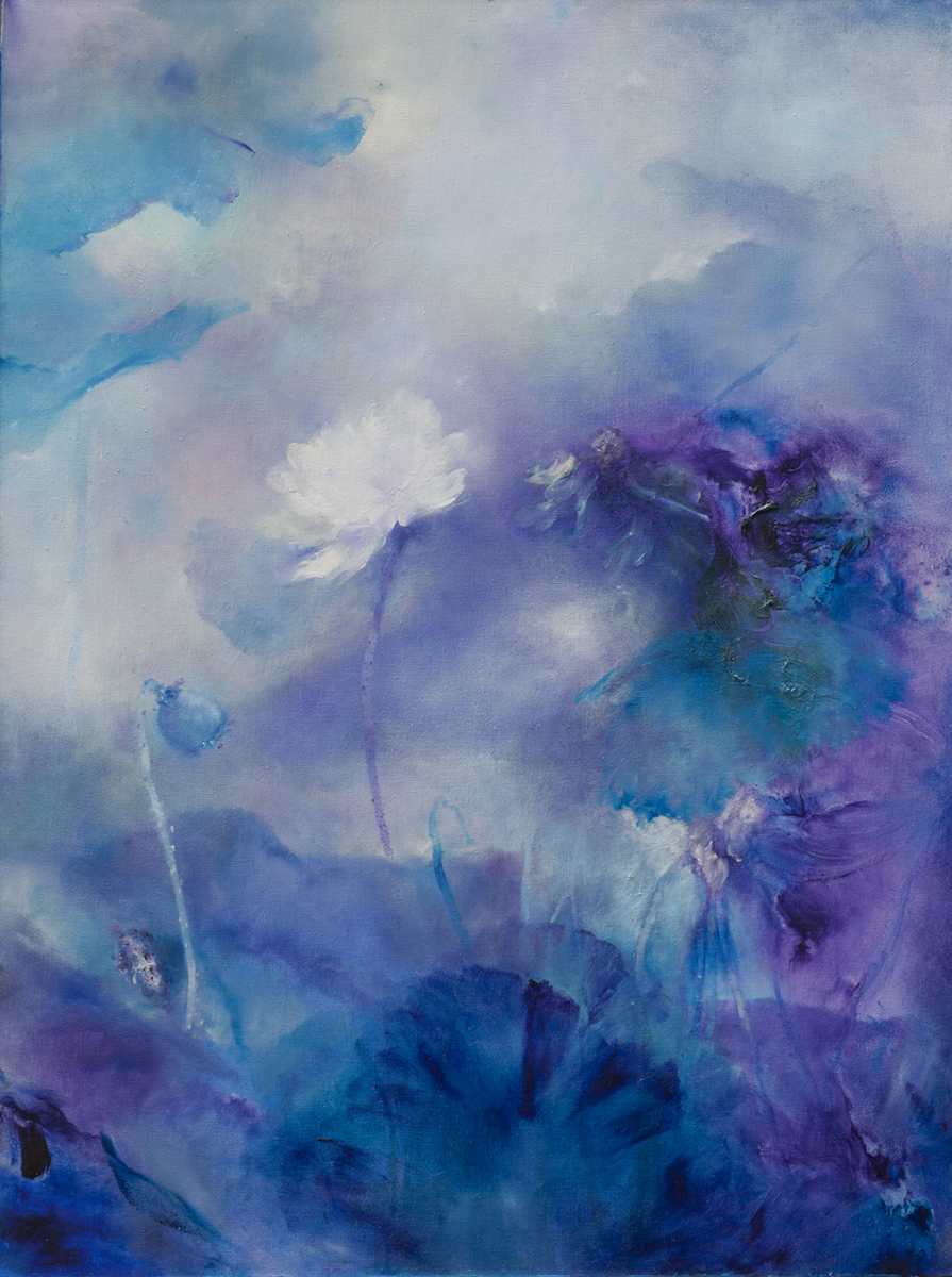 Songzhuang Art Museum unveiled the 'Fearlessness and Freedom' art exhibition Saturday in Beijing. 80 oil paintings from well-known Chinese artists are exibited from Saturday to September 2. This is the oil painting work of Wu Xiaoling.