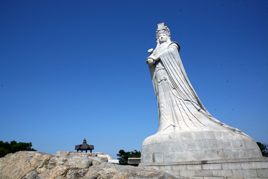 Meizhou Island, one of the 'top 10 attractions in Fujian, China' by China.org.cn.