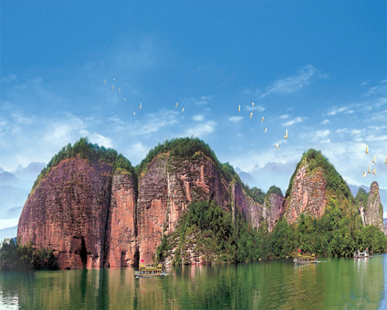 Taining National Geopark, one of the 'top 10 attractions in Fujian, China' by China.org.cn.