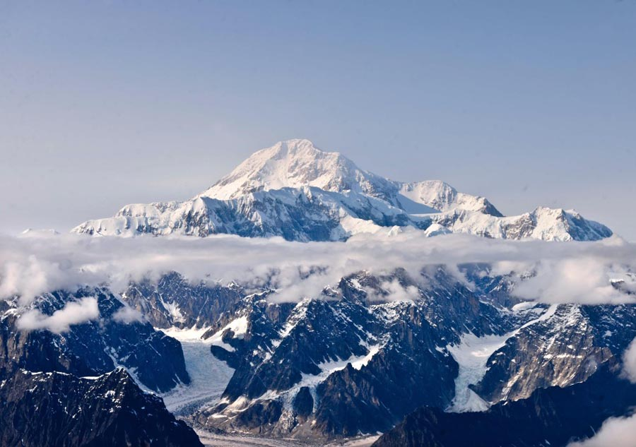 Breathtaking view of Alaska Range - China.org.cn