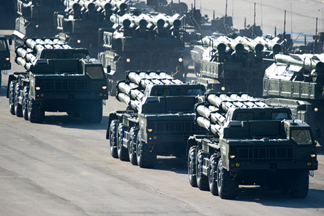 The Smerch rockets made by Russia [File photo]