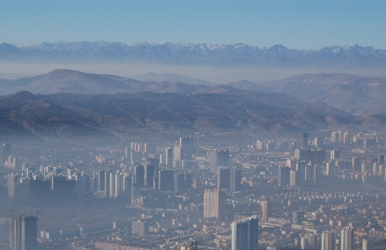 Xining, one of the 'Top 10 most polluted Chinese cities' by China.org.cn