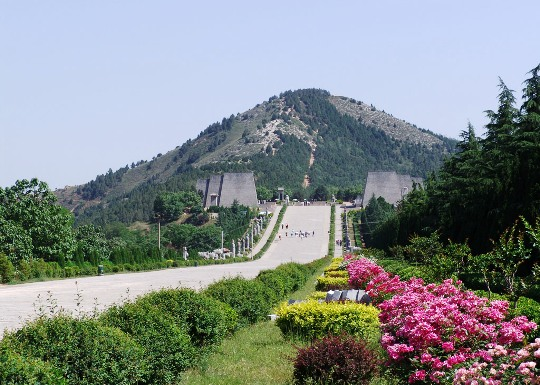 Qianling Mausoleum, one of the 'Top 10 attractions in Shaanxi, China' by China.org.cn