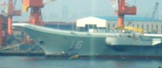 舷号采用中国海军新涂装字体