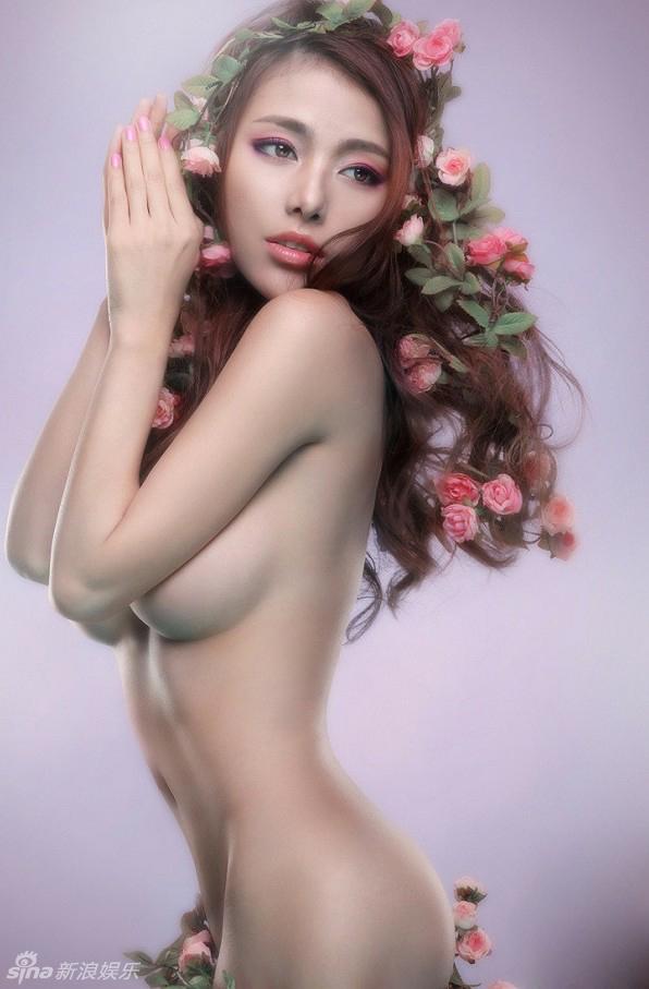 Sey Model Li Shasha S Naked Sina