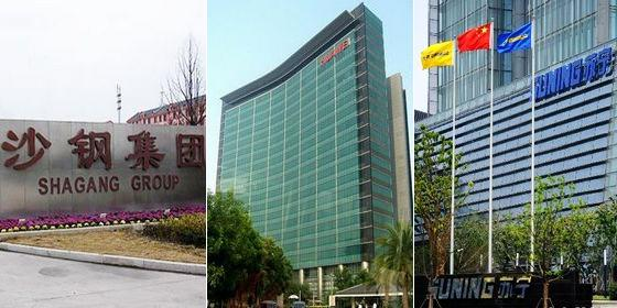 Top 20 Chinese private companies 2012