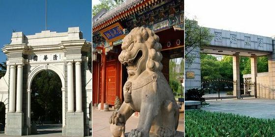 Top 10 billionaire universities in China 2012