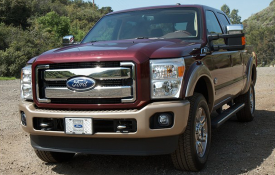 Ford F-350 King Ranch Crew Cab,one of the 'Top 10 most expensive trucks of 2012'.