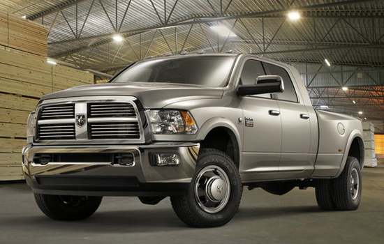 Ram 3500 Crew Cab Laramie Limited 4x4,one of the 'Top 10 most expensive trucks of 2012'.